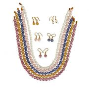Surat Diamond - Pretty Shell Pearls Necklaces In 5 Shades -PS86