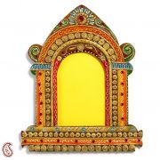 Royal Palace Window Wood And Clay Art Work Wall Photo Frame