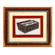Hand Painted Harmonium Design Wall Hanging