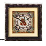 Lord Ganesh Painting Marble Wall Clock