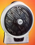 Brite Portable Rechargeable Fan Led Emergency Light AC DC