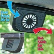 Travel  Solar Powered Auto Cool Ventilation Fan