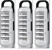Set Of 3 Dp 21 LED Emergency Light 5 Hrs Backup