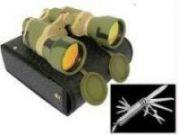 Belgian Camping Knife Set & Russian Binocular