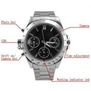 INDMART 4GB Wrist Watch Spy Hidden Camera