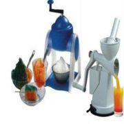 Fruit Juicer With Ice Gola & Slush Maker