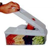 Multi Use Kitchen Essential Vegetable Chopper And Dicer Cum Finger Chipser