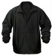 Winter Breaker Polar Fleece Black Jacket