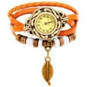 New Vintage Style Leather Bracelet Watch For Women 270