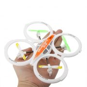 4ch 2.4ghz Rc Ufo Aircraft Drone Toy With 6-axis Gyro Remote Flashing Light