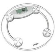 Home Basics Digital Weighing Scale With Glass Top Display