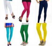 Pack Of 6 Leggings - Medium Quality Cotton Lycra_leging2