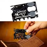Skunk18 In 1 Wallet Ninja Multi Tool Kit In Credit Card Style Mobile Stand