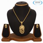 Vendee Fashion Designer Pendant Set 7279