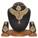 Vendee Fashion Fluorecent Necklace Set (8481a)