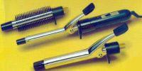 3 In 1 Interchangeable Hair Curler Straightener Curling Rod Iron Brush