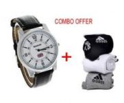 Combo Offer Rbk Watch And Adidas Socks