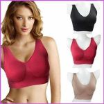 Sports Comfortable Inner Seamless Beautiful And Stylish Air Bra Free Size(code - 1 Aair Bra)