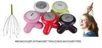 Magnet Head Massager With Mini Body Massager