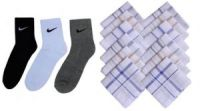 Combo Of Sports Socks Pack Of 3 Pairs With Cotton Handkerchiefs Set Of12pcs