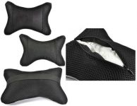 Universal Accesories Seat Neck Rest Cushion Pillow Black Colour For All Cars
