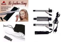 Bi- Feather King Eye- Brow Trimmer/hair Remover With 3-in-1 Curling Iron &