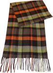 Riyasat-check Design Cashmere Feel Acrylic Woolen Muffler For Men Sc_mf_ay_001