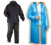 Breaker Complete Rain Suit With Stylish Transparent Rain Coat For Women