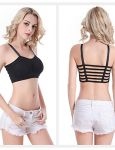 Padded Cotton Sports 6 Strap Fancy Bra For Women