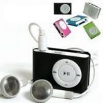 Mini MP3 Player With Earphones And Data Cable