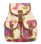 Pick Pocket Floral Back Pack