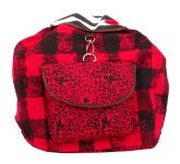 Pick Pocket Red Checks Back Pack