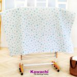 Kawachi Mild Steel Powder Coated With Abs Plastic Jumbo Rack Laundry Hanger Cloth Drying Stand Orange