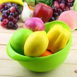 Kawachi Kitchen Wash Rice Thick Sieve Pot Plastic Drain Vegetable Basket Fruit Basket Food Storage Accessories Home-k365