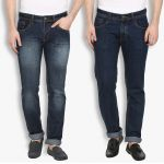 Stylox Mens Stylish Cotton Blue Non Strech Denim Jeans (code - Dnn-6005-8-2dnm )