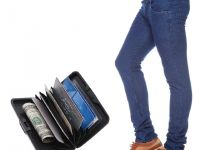 Stylox Dark Blue Denim With Credit Card Holder