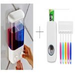 Buy Double Soap Dispenser With Automatic Toothpaste Dispenser - Ddistdis