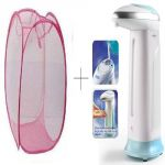 Buy Small Laundry Bag With Free 1 PC Soap Dispenser - Esyssdis1