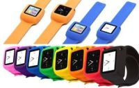 New Griffin Slap Flexible Wristband Watch Strap For Apple iPod Nano Red