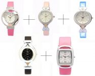 Diwali Special Combo Offer!!! For Five Lr Analog Watch For Women - Lwcm012