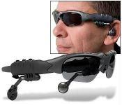 Edwin Clark MP3 Player Sunglasses Goggles Expandable Up To 32GB - Mp3g001