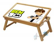 Ben 10 Multipurpose Foldable Wooden Study Table For Kids Wdtb7