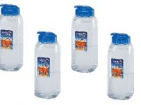 Lock&lock Aqua Easy Grip Bottle Set, 900ml, Set Of 4