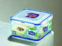 Lock&lock Classics Square Tofu Case Food Container, 1.2 Litres