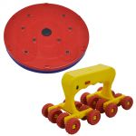 Deemark Combo Of 5 In 1 Twister With Medirolax Roller Massager