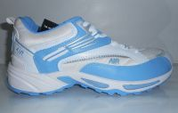 Air New Sports Shoes For Men, Comfortable And Sporty, White And Blue
