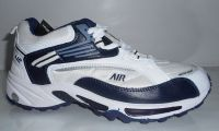 Air New Sports Shoes For Men, Comfortable And Sporty, White And Deep Blue