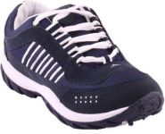 Champs N.blue & White Sports/running/gym/casual Shoe For Men