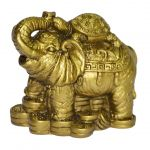 Fengshui Tortoise On Elephant For Luck And Prosperity