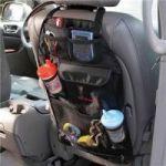 7 Pocket Automotive Car Back Seat Organiser With Umbrella Holder